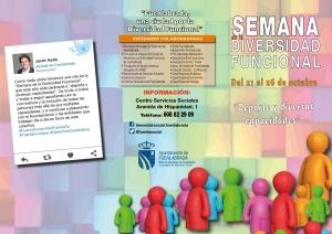 Jornadas de Diversidad Funcional (AEEF) @ Centro Cultural Tomás y Valiente