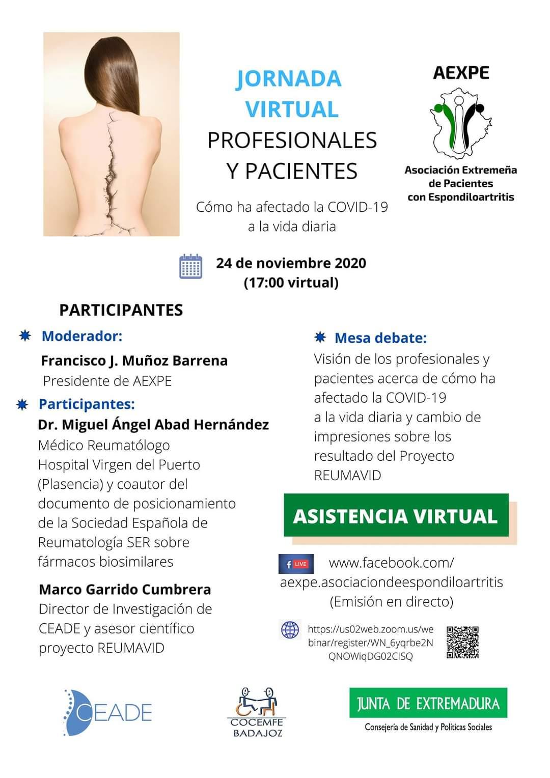 Jornada Virtual AEXPE @ Zoom